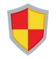 pointy shield icon vector image