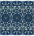 Seamless blue christmas winter gift wrap pattern vector image vector image
