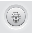 Security Point Icon vector image vector image