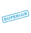 Superior Rubber Stamp vector image