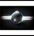 technological global communication signal modern vector image