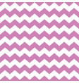 tile pattern with violet zig zag on background vector image vector image