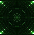 green target screen vector image