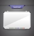 Marker Board vector image
