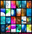24 Abstract quality background for business cards