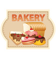 Bakery vector image vector image