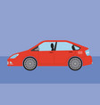 car vehicle sedan automobile transport vector image