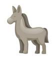 donkey icon cartoon style vector image
