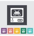 Retro Arcade Machine vector image vector image