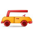 cute funny car vector image