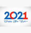2021 round disc red blue white colours vector image