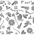 abstract background white and gray 2 vector image vector image