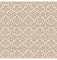 Beige wallpaper pattern vector image