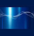blue metal texture background with line wave vector image