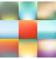 Abstract blurred background design vector image vector image