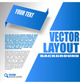 Blue Design vector image