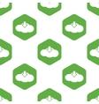 Cloud download pattern vector image vector image