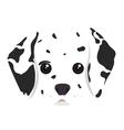 dalmatian dog cartoon vector image vector image