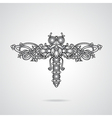 Dragonfly ornament vector image vector image