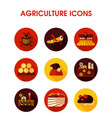 farm field icon agriculture sign