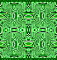 green psychedelic abstract seamless striped vector image vector image