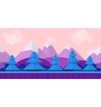 Nature landscape background for games vector image vector image