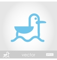 Seagull icon vector image