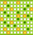 background tiles with square holes vector image