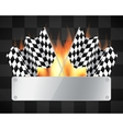 Background with checkered flags vector | Price: 1 Credit (USD $1)