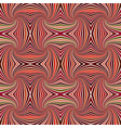 brown abstract psychedelic seamless striped vector image vector image