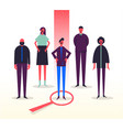 business stylized characters vector image vector image