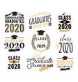 congratulation graduation wishes overlays vector image