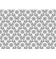 floral vintage elegant seamless pattern vector image