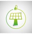 solar energy design vector image