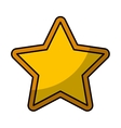 star favorite symbol icon vector image