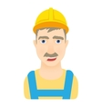 Worker icon cartoon style vector image