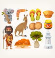 Australian set vector image vector image