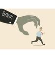 bank attack vector image vector image