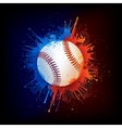 Baseball ball vector | Price: 3 Credits (USD $3)