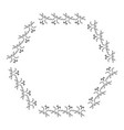 elegant victorian with hexagonal shape frame vector image vector image