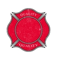 Grunge banner Distressed frame Vintage badge vector image vector image
