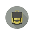 Icon of school bag vector image