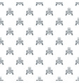 innovation 3d printing pattern seamless vector image vector image