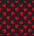 Seamless hand-drawn hearts pattern