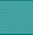 seamless knitted triangle background vector image vector image