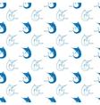Set of Fish Marlin Seamless Pattern vector image vector image