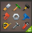tools icon set-4 vector image vector image