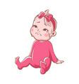 crying baby girl cartoon sad toddler