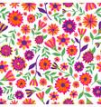 dia de los muertos seamless pattern with vector image vector image
