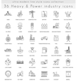 heavy and power industry ultra modern vector image vector image